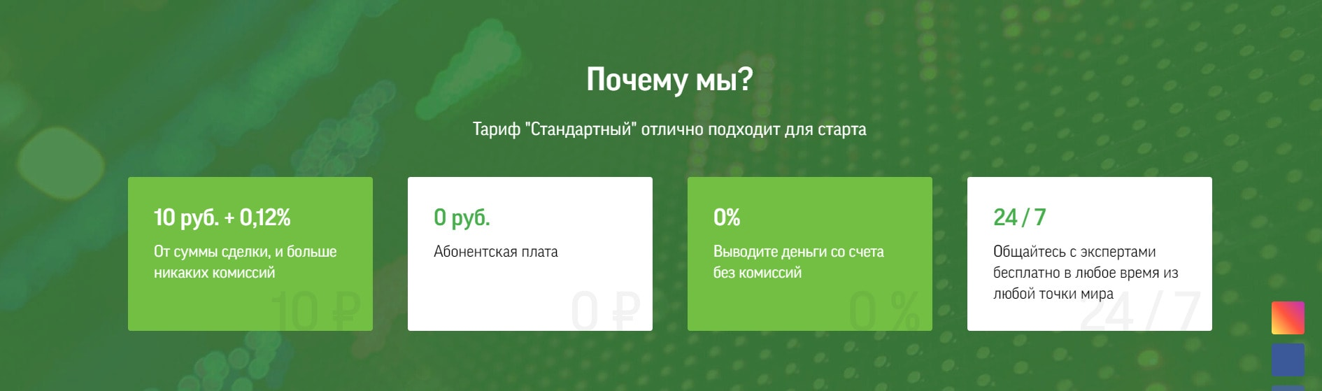 Тариф стандартный Фридом Финанс