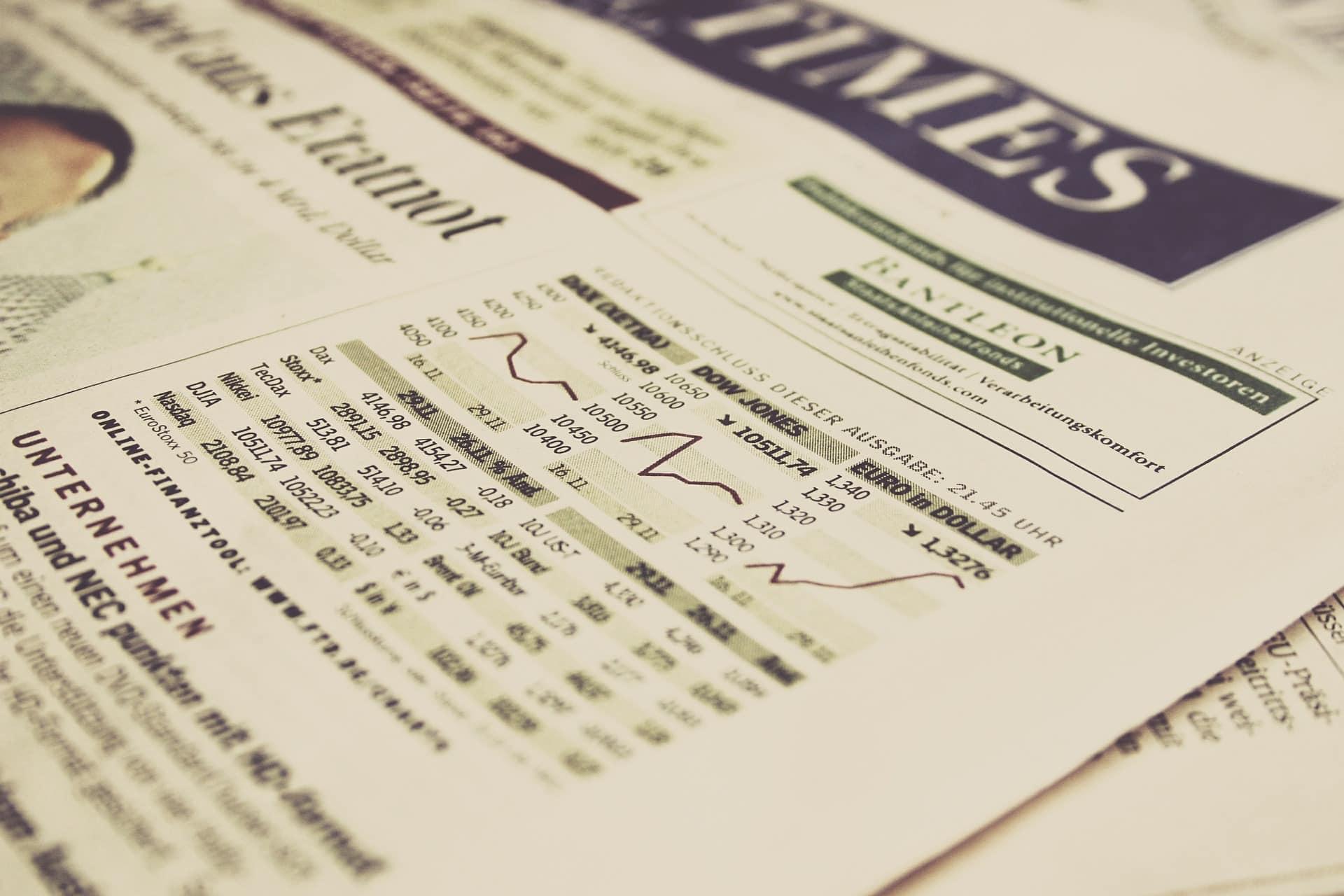 Индекс Dow Jones. История, структура и его понимание