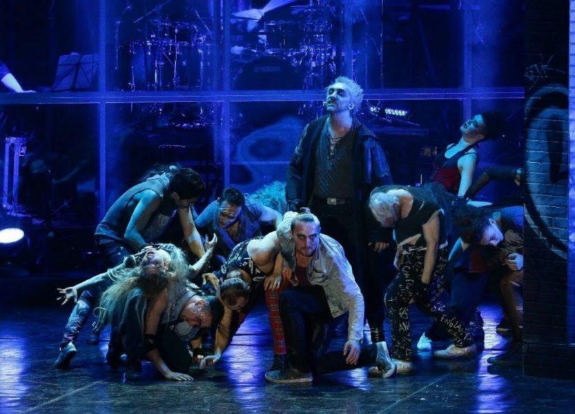 Рок опера ТОДД (Сцена)