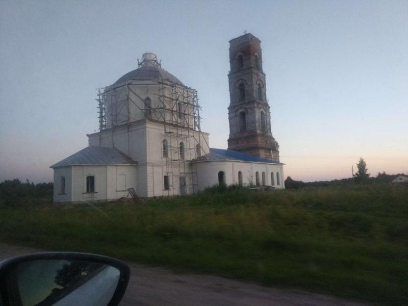 Церковь под Новгородом